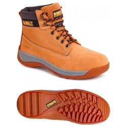 Dewalt Apprentice Nubuck Safety Hiker Boot Honey