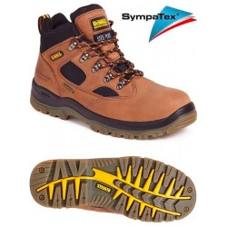 Dewalt Challenger 3 Waterproof Safety Hiker Boot Brown
