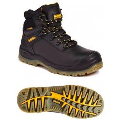 Dewalt Newark Waterproof Safety Hiker Boot Black