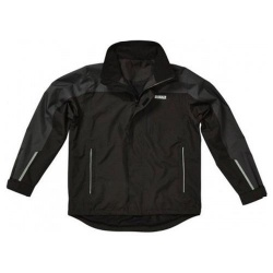 Dewalt Storm Lightweight Waterproof Jacket Black