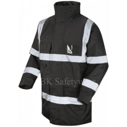 Hi Vis Superior Jacket Black
