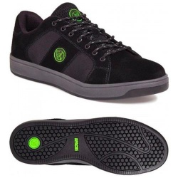 Apache Workwear Kick Suede Safety Trainer Black