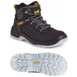 Dewalt Laser Safety Hiker Boot Black