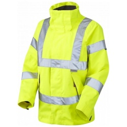 Leo Workwear JL04-Y Rosemoor Hi Vis Ladies Breathable Jacket Yellow