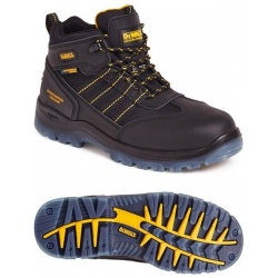 Dewalt Nickel Waterproof Safety Hiker Boot Black