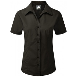 ORN Clothing Edinburgh Ladies Premium Polycotton Short Sleeve Blouse 130gsm