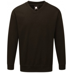 ORN Clothing Buzzard 1260 Premium V Neck Sweatshirt 65% Polyester / 35% Cotton 320gsm