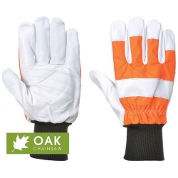Portwest A290 Oak Chainsaw Forestry Workwear Protective Glove (Class 0)
