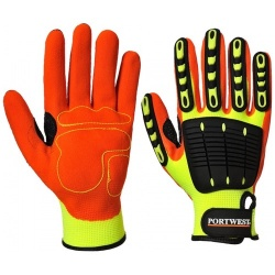 Portwest A721 Anti Impact Grip Glove - Nitrile