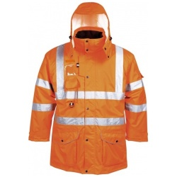 Portwest RT27  Hi Vis 7-in-1 Traffic Jacket