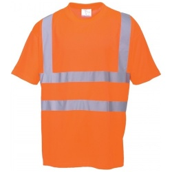 Portwest RT23 Hi Vis T-Shirt Orange