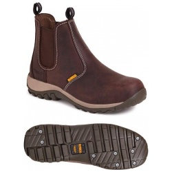 Dewalt Radial Safety Dealer Boot Brown