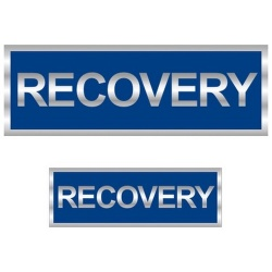 Recovery Reflective Badge (Front & Back)