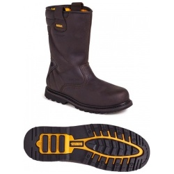 Dewalt Welted Rigger Boot Brown