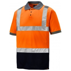 Dickies SA22076 Hi Vis Two Tone Polo Shirt