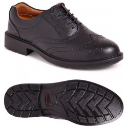 City Knights SS500CM Brogue Safety Shoe Black