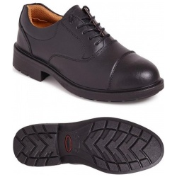 City Knights SS501CM Oxford Safety Shoes Black