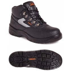 Worksite SS601SM Mid-Cut Safety S1P SRA Boot Black
