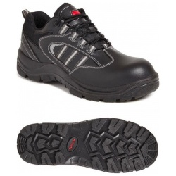 Airside SS705CM Unisex Non-Metallic Safety Shoe Black