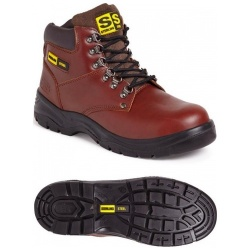 Sterling Steel SS807SM 6 Eye Hiker S1P SRC Boot Brown