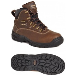 Sterling Steel SS813SM Waterproof Safety Hiker Brown