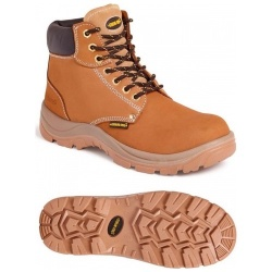 Sterling Steel SS819CM 6 Eye Hiker S3 SRA Boot Wheat