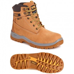 Dewalt Titanium 6 inch Waterproof Safety Boot Wheat