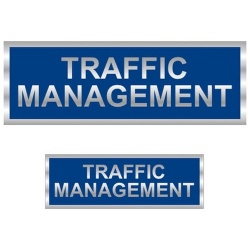 Traffic Management Reflective Badge (Front & Back)