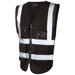 Urban54 Superior Hi Vis Vest Black
