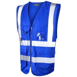 Urban54 Hi Vis Superior Vest Royal Blue