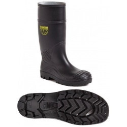 Worksite SS628SM PVC Safety Wellington Black