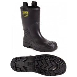 Worksite SS630SM PVC Rigger boot Black