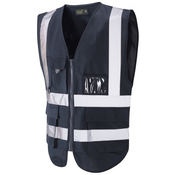 Urban54 Hi Vis Superior Vest Dark Navy