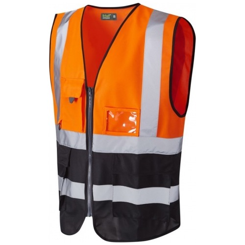 Urban54 Hi Vis Superior Vest Orange / Black